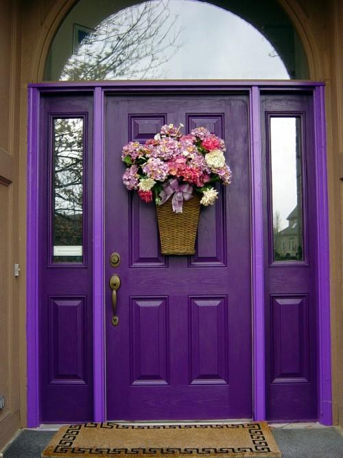 Как украсить двери фото